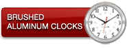 Brushed Aluminium Clocks