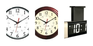 Wireless clocks