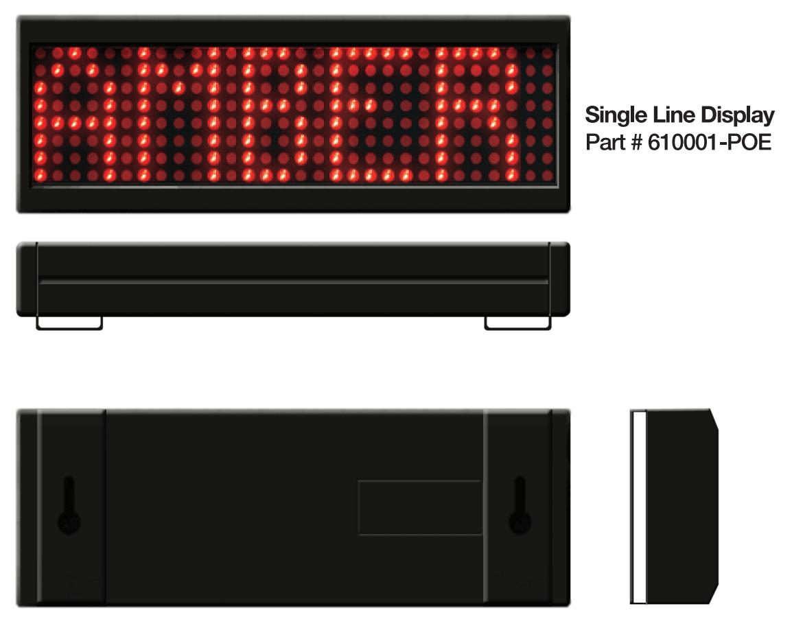 Single Line PoE Board